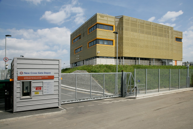 East London Line Operational Building Complex access