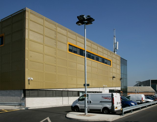 Image of Operational Building Complex, East London Line