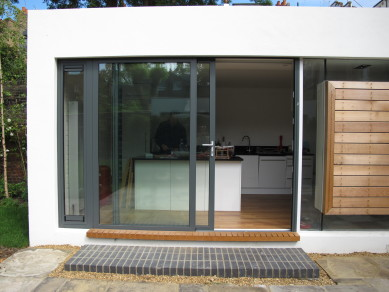 Photo of completed works - kitchen extension
