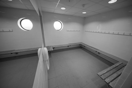 Photo of completed works - Changing Rooms