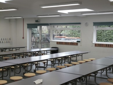 Extended canteen space