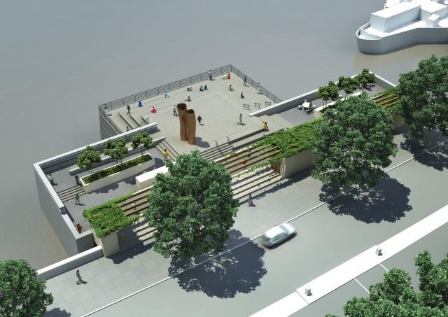 Victoria Embankment Foreshore