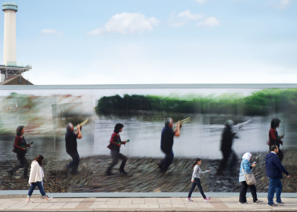 Thames tideway tunnel artwork