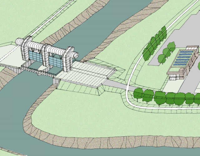 Image of Bridgwater Tidal Barrier Scheme public consultation