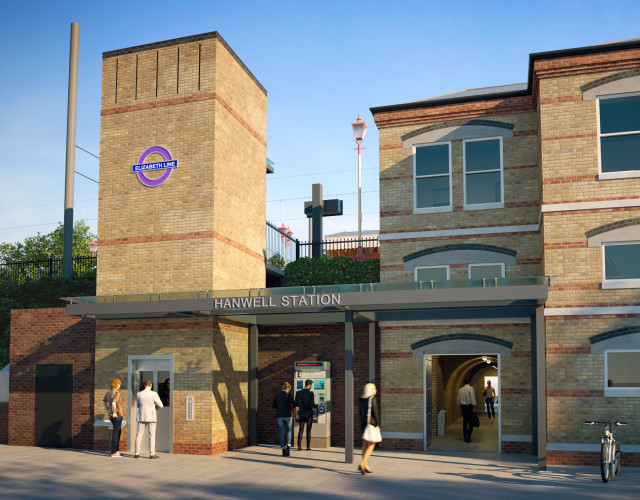 Image of Hanwell Station Access for All