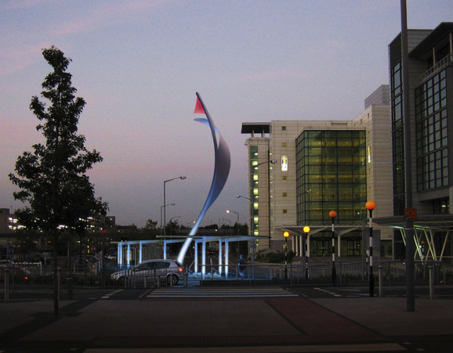 Image of Birmingham Airport wayfinding