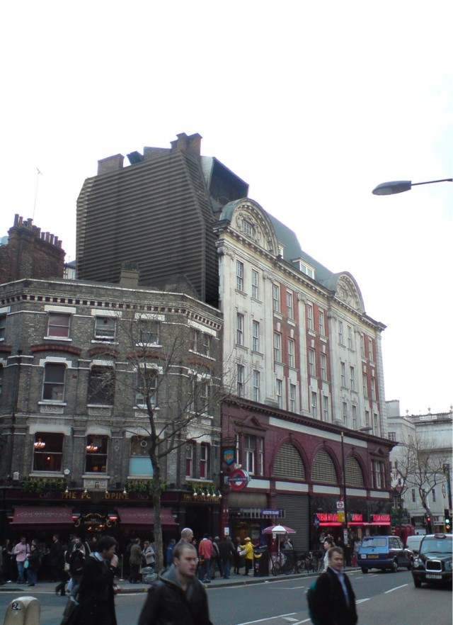 Leicester square ventilation proposal