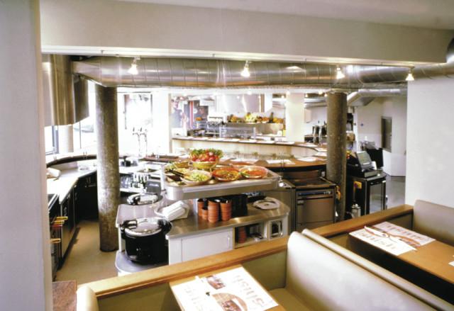 Shish Kitchen View