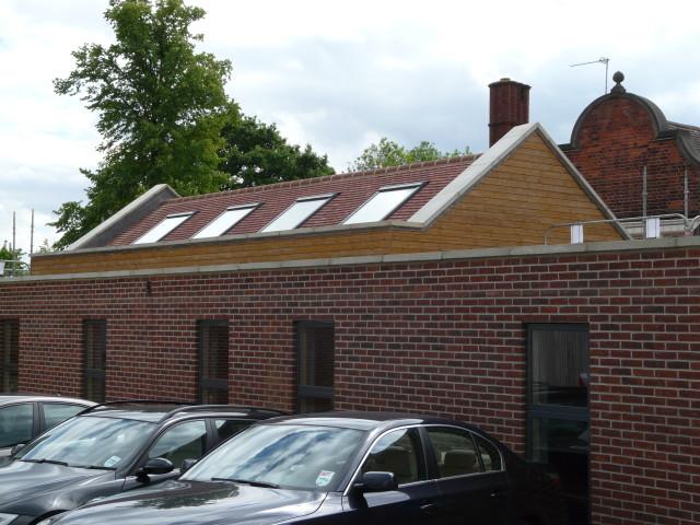 The new ancillary accommodation at Edgware Junior School