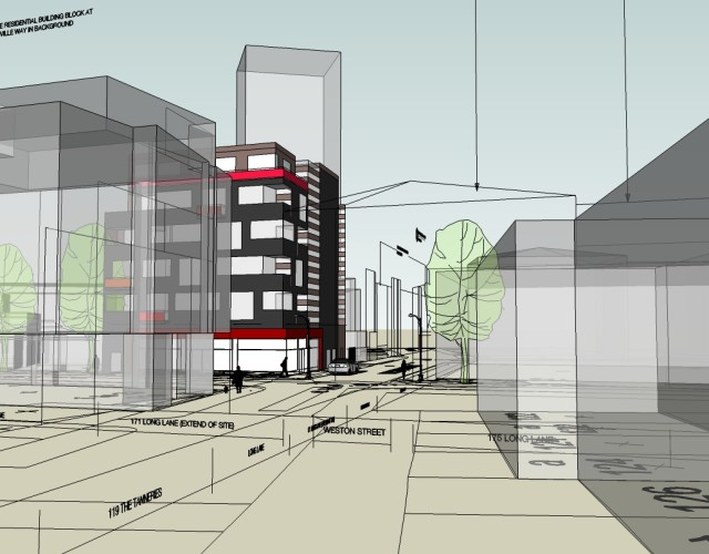Image of Southwark brownfield regeneration