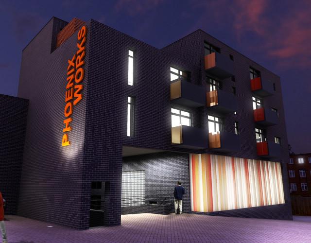 Image of Phoenix Works mixed use development