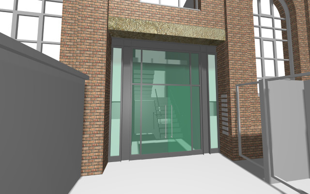 Entrance visualisation