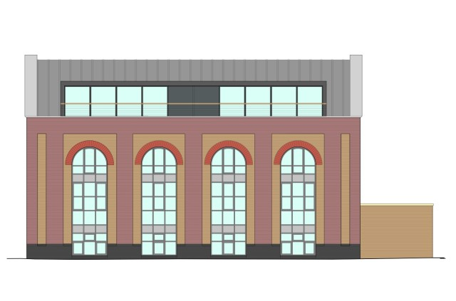 Elevational drawing
